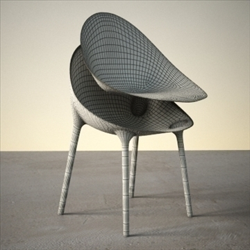 contemporary chair 3d model 3ds max dxf fbx lwo ma mb hrc xsi obj 111443