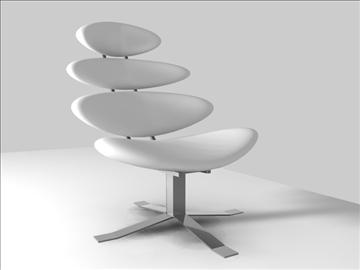 korona krēsls 3d modelis c4d 105689