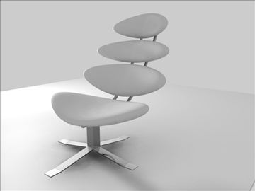 corona chair 3d model c4d 105690
