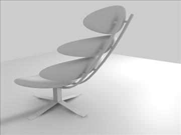 corona chair 3d model c4d 105691