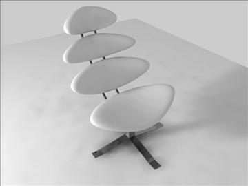 corona chair 3d model c4d 105693