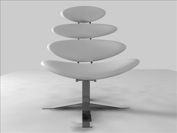 corona chair 3d model c4d 105694