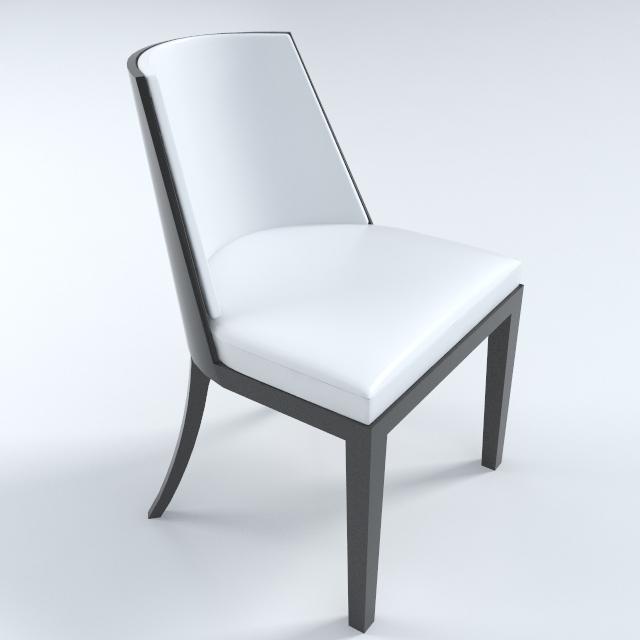 crescent chair 3d model 3ds max dxf fbx obj 114934