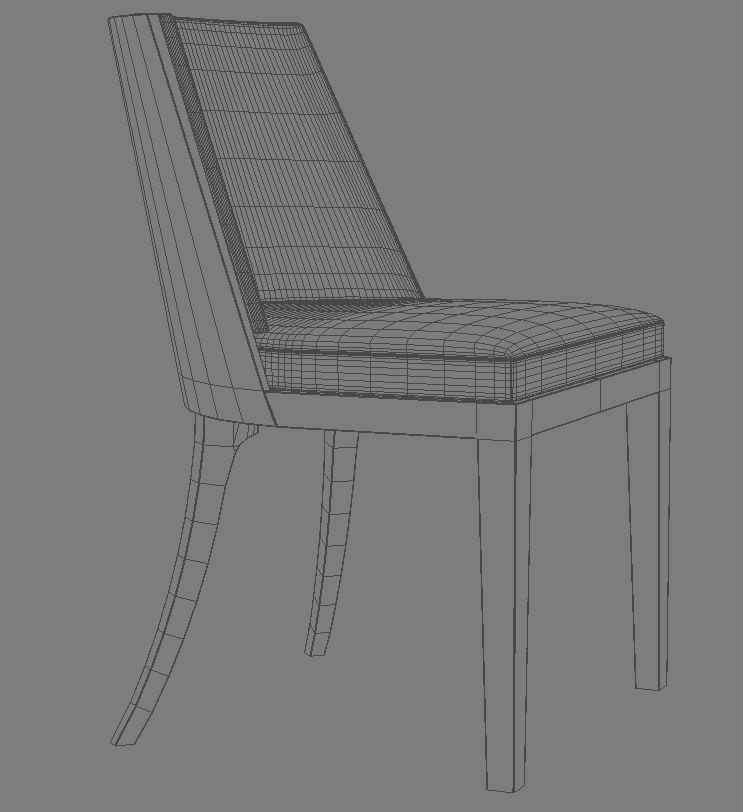 crescent chair 3d model 3ds max dxf fbx obj 114937