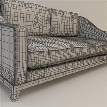 designer fabric sofa 3d model 3ds max lwo texture obj 110729