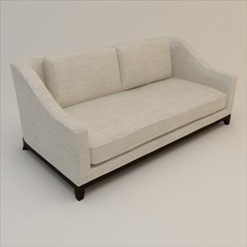 designer fabric sofa 3d model 3ds max lwo texture obj 110730