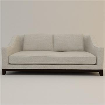 designer fabric sofa 3d model 3ds max lwo texture obj 110731