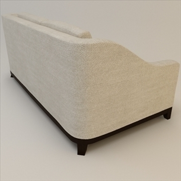 designer fabric sofa 3d model 3ds max lwo texture obj 110732