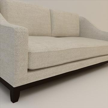 Designer fabric sofa ( 77.86KB jpg by robkius )