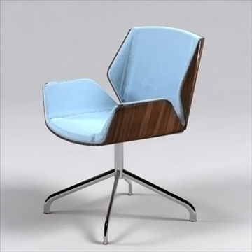 destrezza chair 3d model 3ds max dxf 96236