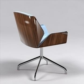 destrezza chair 3d model 3ds max dxf 96237