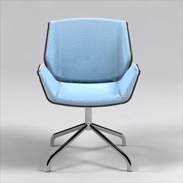destrezza krēsls 3d modelis 3ds max dxf 96238