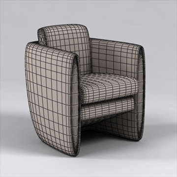 dinamico chair 3d model 3ds max dxf 110050