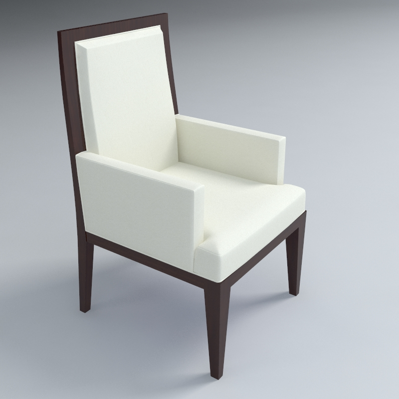 dining armchair 3d model 3ds max dxf fbx obj 114938
