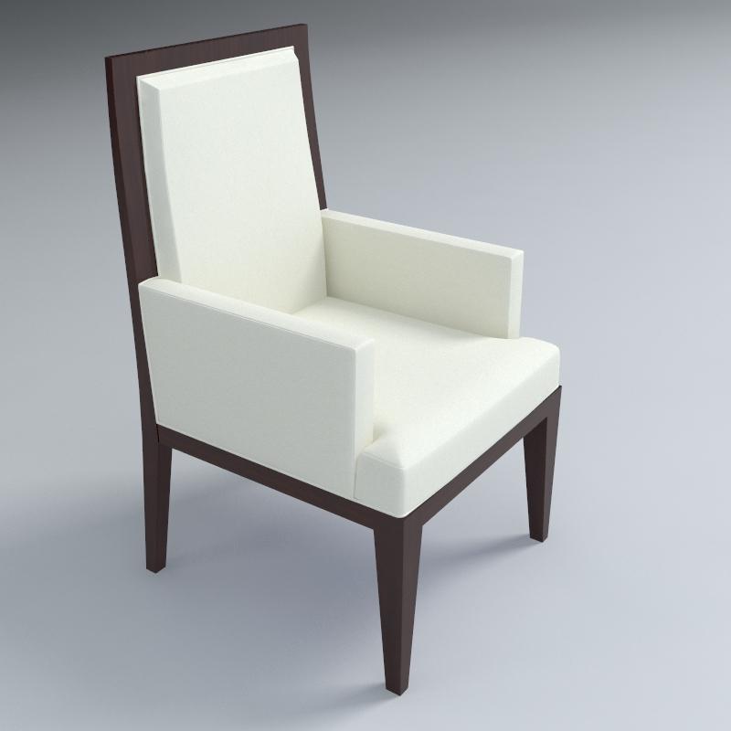 ēdamistabas krēsls 3d modelis 3ds max dxf fbx obj 114938