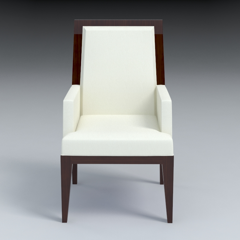dining armchair 3d model 3ds max dxf fbx obj 114940
