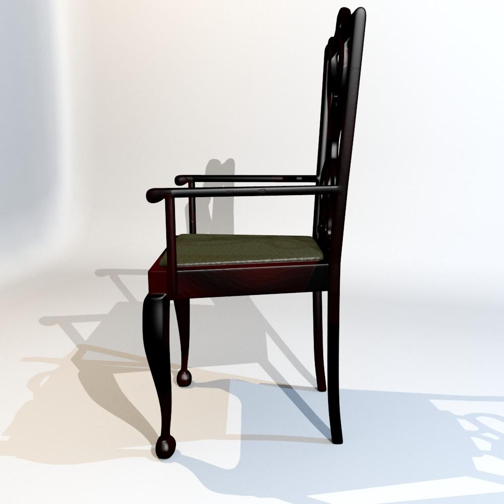 karrige ngrënie të vendosur 3d model fbx përzierje me xhami 118645