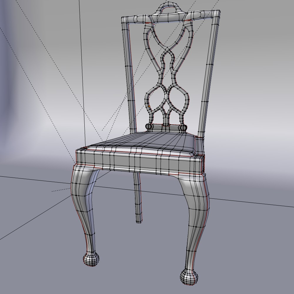 karrige ngrënie të vendosur 3d model fbx përzierje me xhami 118647