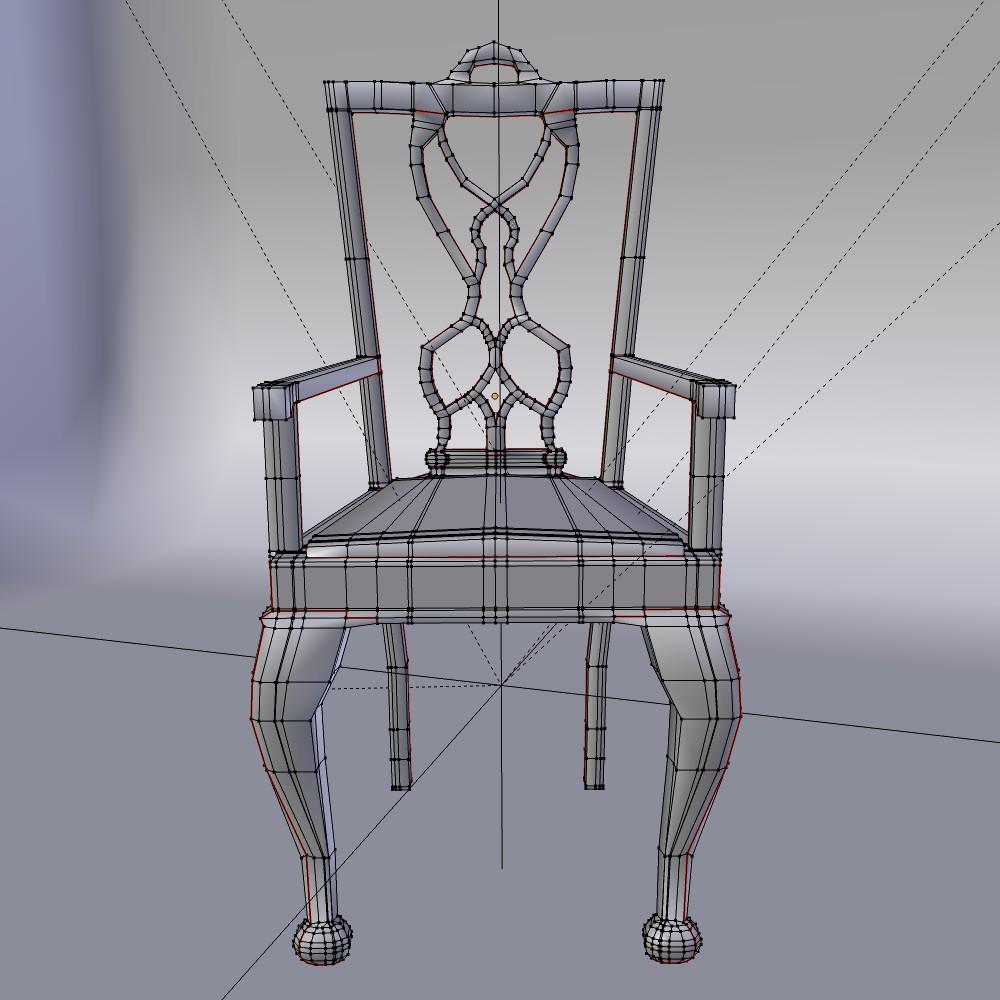 karrige ngrënie të vendosur 3d model fbx përzierje me xhami 118649