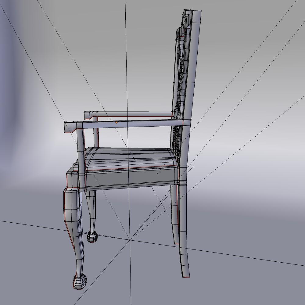 karrige ngrënie të vendosur 3d model fbx përzierje me xhami 118650