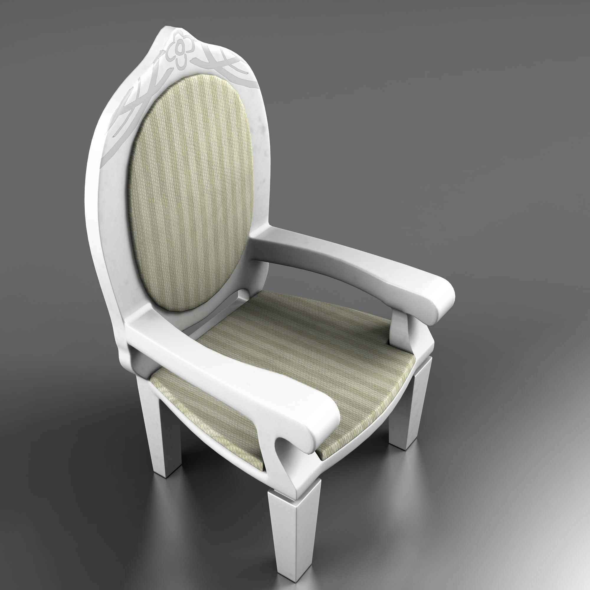 dolls pushchair 3d model 3ds max fbx ma mb obj 157398