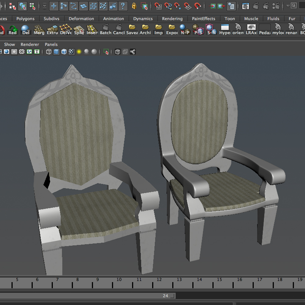 dolls pushchair 3d model 3ds max fbx ma mb obj 157409
