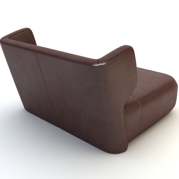 etienne baxter italy armless chair 3d model 3ds max fbx texture obj 114837