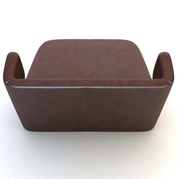 etienne baxter italy armless chair 3d model 3ds max fbx texture obj 114838
