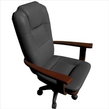 executive chair 3d model max 86317