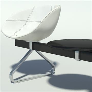 fjord bar 3 places table 3d model 3ds max dwg fbx obj 87588