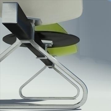 fjord bar 3 places table 3d model 3ds max dwg fbx obj 87589