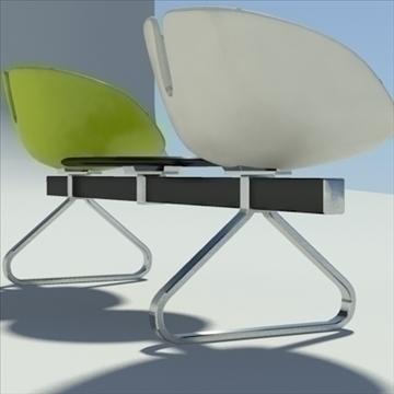 fjord bar 3 places table 3d model 3ds max dwg fbx obj 87590