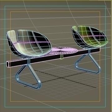 fjord bar 3 places table 3d model 3ds max dwg fbx obj 87591