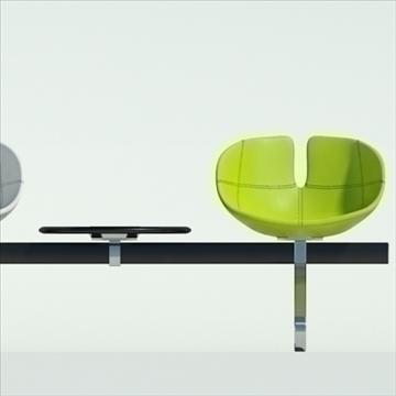 fjord bar 4 places table 3d model max dwg fbx obj 87594