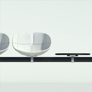 fjord bar 4 places table 3d model max dwg fbx obj 87595