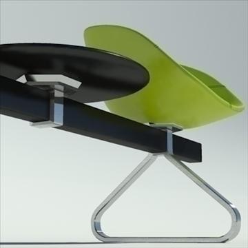 fjord bar 4 places table 3d model max dwg fbx obj 87596