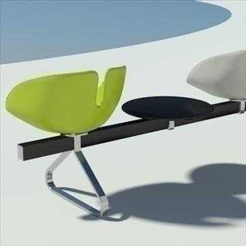 fjord bar 4 places table 3d model max dwg fbx obj 87597