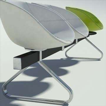 fjord bar 4 places table 3d model max dwg fbx obj 87598