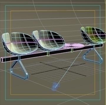 fjord bar 4 places table 3d model max dwg fbx obj 87600