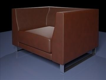 ginevra armchair 2009 3d model 3ds max obj 92226