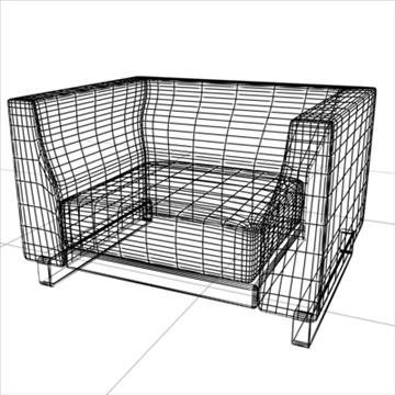 ginevra armchair 2009 3d model 3ds max obj 92228