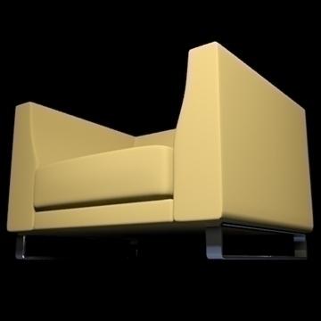 ginevra armchair 2009 3d model 3ds max obj 92230