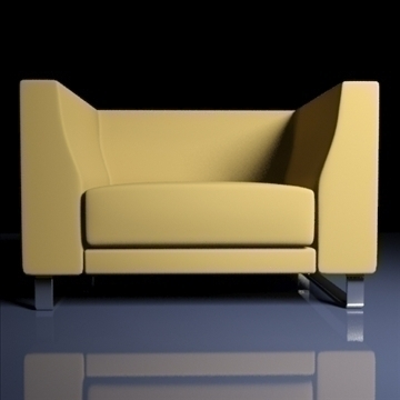 ginevra armchair 2009 3d model 3ds max obj 92231