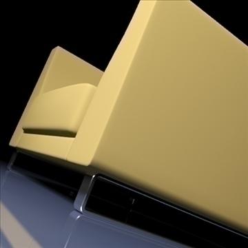 ginevra armchair 2009 3d model 3ds max obj 92232