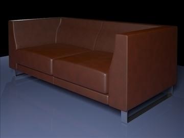 ginevra kauč 2 2009 3d model max dwg fbx obj 92233