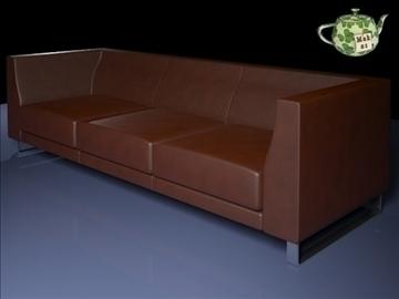 καναπέ ginevra 3 2009 3d μοντέλο 3ds max fbx obj 92238