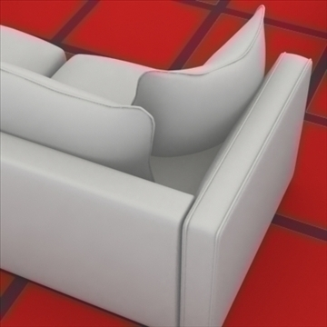 ginevra sofa composition 2 3d model 3ds max obj 80345
