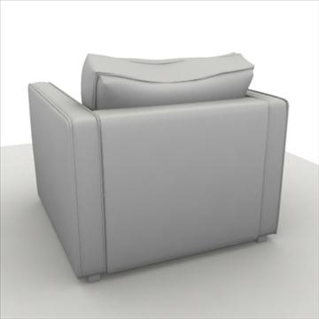 globe sofa 3d model 3ds max 80316