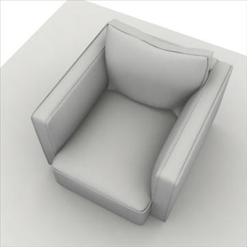 globe sofa 3d model 3ds max 80317