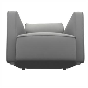 globe sofa 3d model 3ds max 80318